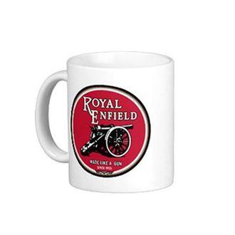 Speedy Riders Printed Customized Ceramic Tea And Coffee Mug 350 ML White Color