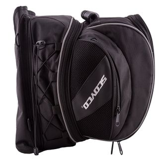 Speedy Riders Scoyco Universal Expandable Magnetic Tank Bag for All Bikes (Black)