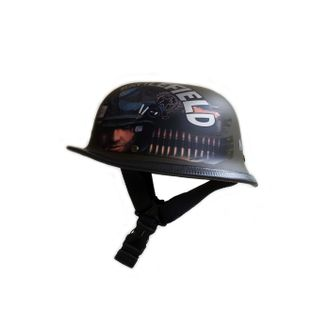 Speedy Riders German Style Battle Field Half Helmet Matte Color Military Style
