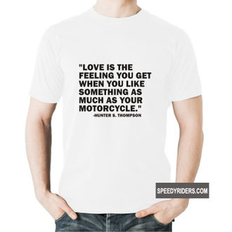 Speedy Riders Biker Tshirt For Men Cotton Round Neck Half Sleeves Men's Graphic Printed T-shirt