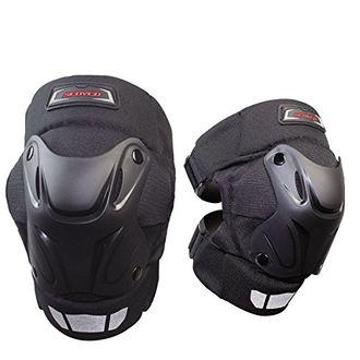 Speedy Riders Scoyco K-15 Motorcycle Racing Riding Knee Guard Pads Protector Gear Black
