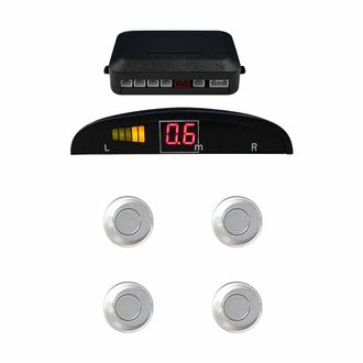 Speedy Riders Reverse Car Parking Sensor LED Display White For All Cars