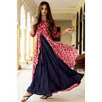 Reblu Floral Print Dress