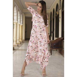 Floral Flap Jumpsuit