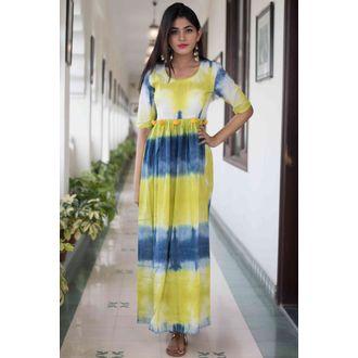 TieDye Pompom Dress