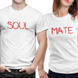 ab863ce4bd sold-out-image POLYESTER DRY FIT COUPLE T SHIRTS- SOUL MATE-01 (WHITE)