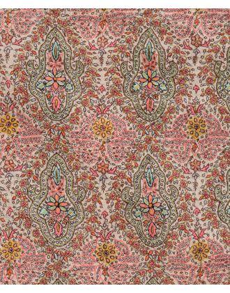 Fine Silk Thread Hand Embroidered Ivory Sozni Jamawar Pure Pashmina Shawl