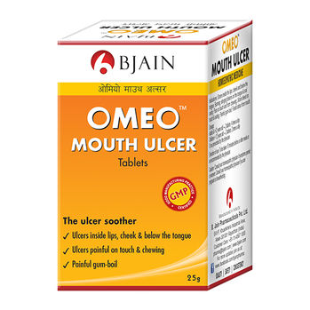 BJain Omeo Mouth Ulcer Tablets for Gum Boils