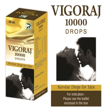 Dr Raj Vigoraj 10000 Drops for Nervine for men