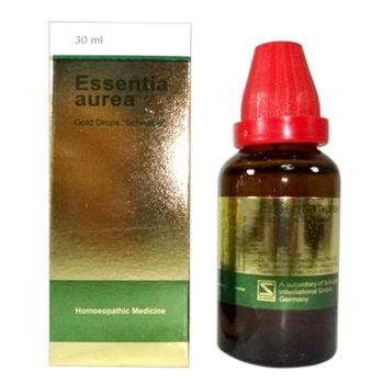 Schwabe Essentia Aurea drops (Gold drops) for Cardiac Weakness, Hypertension, Heart Diseases