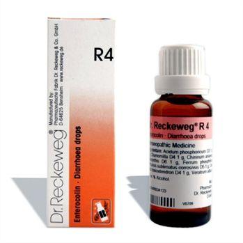 Dr.Reckeweg R4 Diarrhea drops for Intestinal Catarrh, Dysentery, Gastro-Entero-Colitis