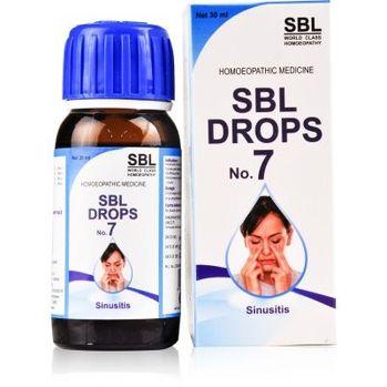SBL Drops No 7 for Sinusitis