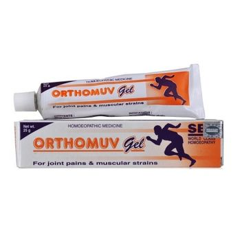 SBL Orthomuv Gel for Joint Pains and Muscular Strain