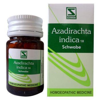Schwabe Azadirachta 1X Tablet, Skin detoxifier for eczema, boils, scabies, ulcers.