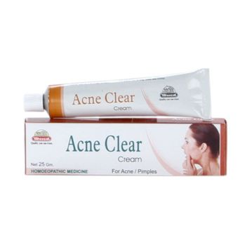 Wheezal Acne Clear Cream for Acne (Pimples)-Pack of 3