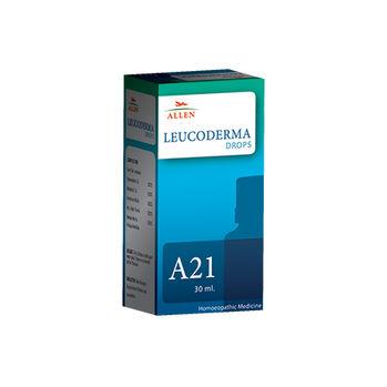 Allen A21 Homeopathy Drops for Leucoderma