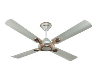 Havells Leganza 3B 1200mm Electrical Ceiling Fan (Pearl White Silver)