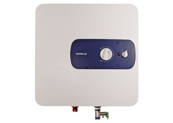 Havells Bello 25-Litre 2000-Watt Storage Water Heater (White and Blue)