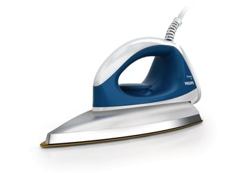 Philips GC 103/02 Dry Iron  (Blue)
