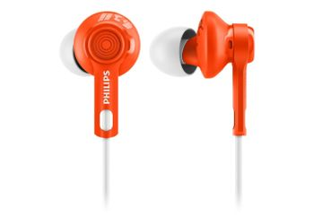Philips SHQ2300OR/00 ActionFit Sports Headphones (Orange)