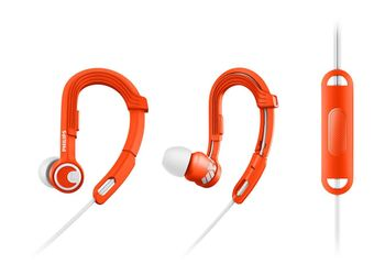 Philips SHQ3305OR/00 ActionFit Sports In-Ear Headphones (Orange)