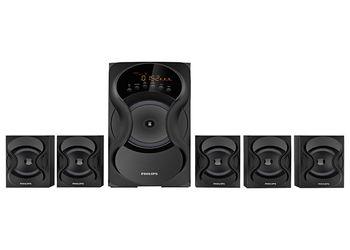 Philips SPA5161F 5.1 Channel Multimedia Speakers