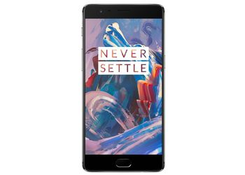 OnePlus 3 (Graphite, 64 GB) (Unboxed)