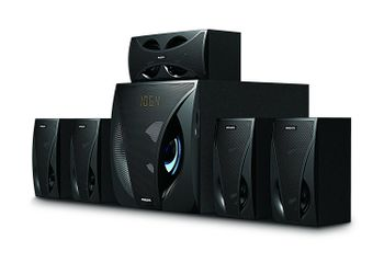 Philips SPA5220B 5.1 Channel Multimedia Speakers (Black)