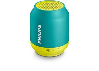 Philips BT-50A/00 2.1 Wireless Bluetooth Speaker (Green/Yellow)
