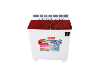 Onida 8.5 kg Semi-Automatic Top Loading Washing Machine (S85GC, Red)