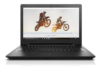 Lenovo Ideapad 110 80T700EMIH 15.6-inch Laptop (Pentium N3710/4GB/500GB/DOS/Integrated Graphics), Black (Unboxed)