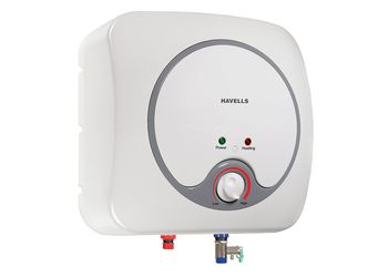 Havells Quatro 15-Litre Storage Water Heater (White and Gray)