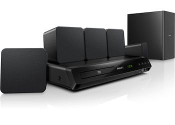 Philips HTD 3520G/94 Home theatre (Black) (Unboxed)