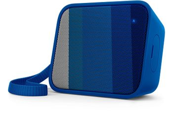 Philips BT110R/00 Splash-Proof Wireless Portable Bluetooth Speaker (Blue)