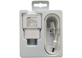 SAMSUNG Travel Adapter (EP-TA20IWEUGIN) WHITE Battery Charger