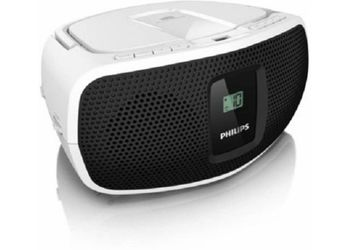 Philips AZ390W/94 Mobile/Tablet Speaker (1 Channel) (Unboxed)