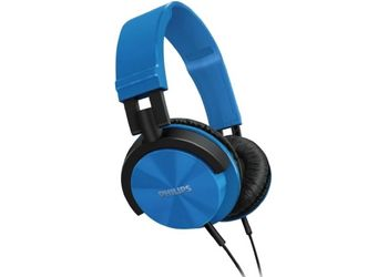Philips SHL3000BL Wired Headphone  (Blue, Over the Ear) (Unboxed)
