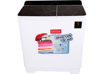 Onida 9.5 kg Semi Automatic Top Load Washing Machine Black  (S95GC)