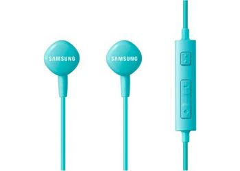 Samsung EO-HS130DGEGIN Headset with Mic  (Blue, In the Ear)
