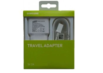 SAMSUNG Travel Adapter EP-TA13IWEUGIN White Mobile Charger  (White)