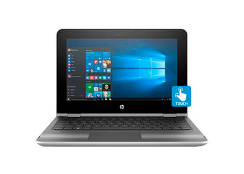 HP Pavilion x360 11-u005tu (2 in 1) (W0J55PA) (Core i3 (6th Gen)/4 GB/29.46 cm (11.6)/Windows 10 Home/ (Silver)-Unboxed