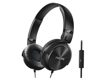 Philips SHL3195BK/94 DJ Headphone with mike (SHL3195BK)