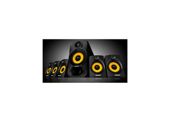 Philips SPA 3800 B Heart Beat Home Theater System (SPA3800B )