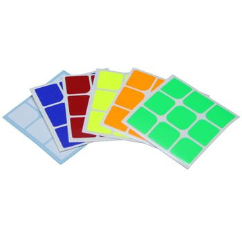 Cubicle 3x3 Half Bright Sticker Set 57mm -GuanLong Full Fitted