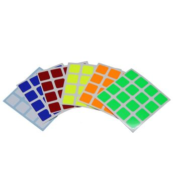 Cubicle 4x4 Half Bright Sticker Set 60mm - Aosu mini