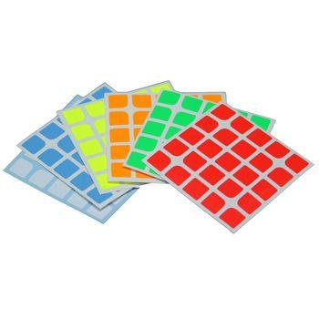 Cubicle 5x5  Full Bright Sticker Set 64mm - Florian