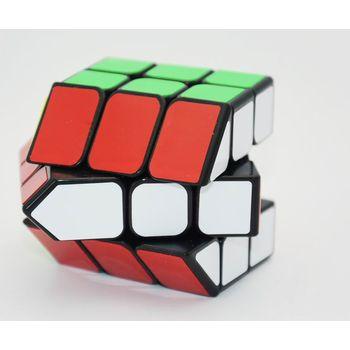Cube Style Bermuda House I Black (Without Chimney)