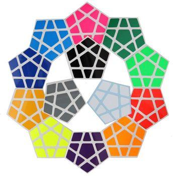 Cubicle Megaminx Bright Sticker Set 32mm-ShengShou