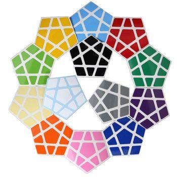 Cubicle Megaminx Sticker Set 32mm-ShengShou