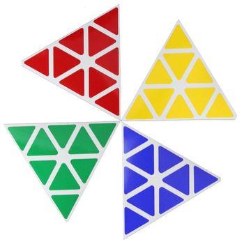 Cubicle Pyraminx Standard Sticker Set 98mm-MoYu